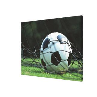 Balón de fútbol 3 impresión en lona estirada