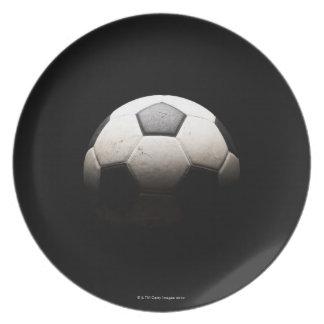 Balón de fútbol 3 platos para fiestas