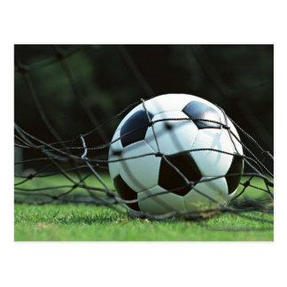 Balón de fútbol 3 postal