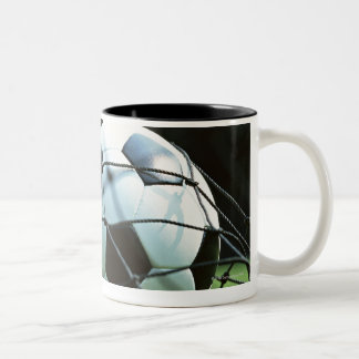 Balón de fútbol 3 tazas de café