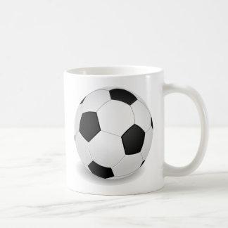 balón de fútbol 3D Taza