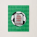 Balón de fútbol adaptable de la foto rompecabeza con fotos