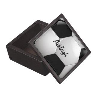 Balón de fútbol adaptable del fútbol caja de joyas de calidad