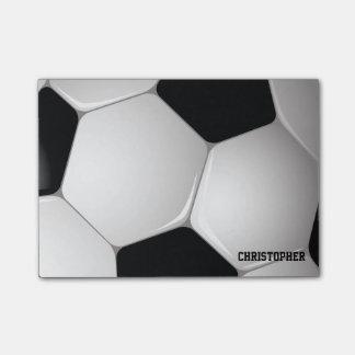 Balón de fútbol adaptable del fútbol nota post-it