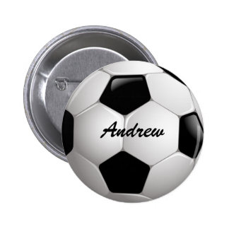 Balón de fútbol adaptable del fútbol pin redondo de 2 pulgadas