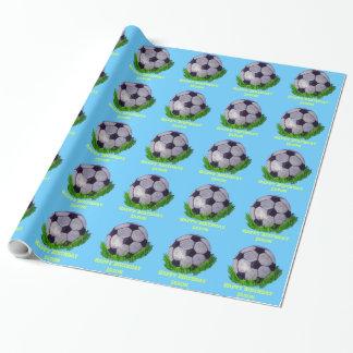 Balón de fútbol adaptable en hierba