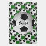 Balón de fútbol adaptable toallas de cocina