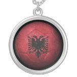 Balón de fútbol albanés gastado de fútbol de bande grimpola personalizada