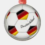 Balón de FÚTBOL ALEMANIA equipo nacional 2014 Ornamento De Navidad