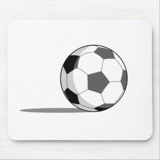 Balón de fútbol alfombrilla de raton