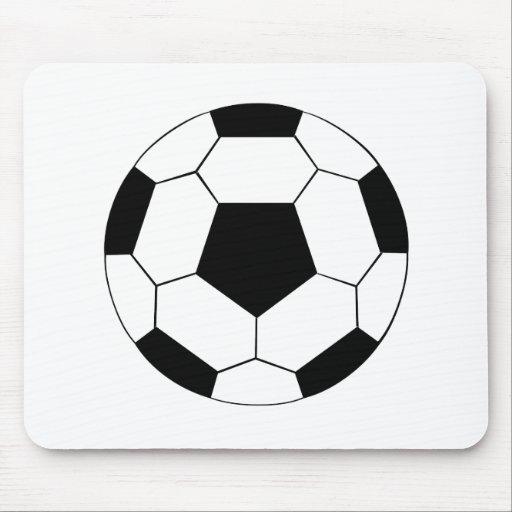 Balón de fútbol alfombrilla de ratones