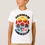 Balón de fútbol americano alemán playera
