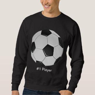 Balón de fútbol americano o del fútbol de suéter