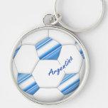 Balón de FÚTBOL ARGENTINA selección nacional 2014 Llavero Redondo Plateado