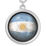 Balón de fútbol argentino gastado de fútbol de ban grimpolas personalizadas