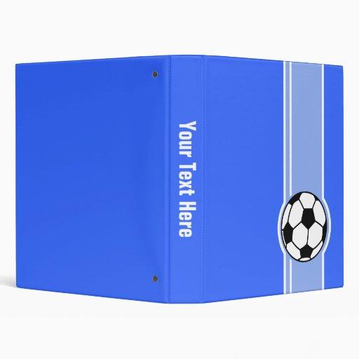 """Balón de fútbol; Azul Carpeta 1"""""""