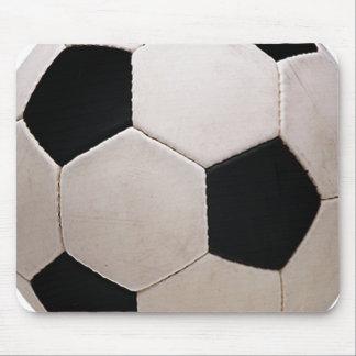 Balón de fútbol blanco y negro alfombrillas de raton
