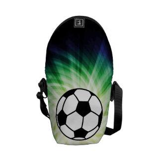 Balón de fútbol bolsas de mensajeria