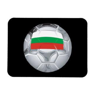 Balón de fútbol búlgaro rectangle magnet