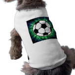 Balón de fútbol camisa de perrito