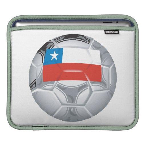 Balón de fútbol chileno fundas para iPads