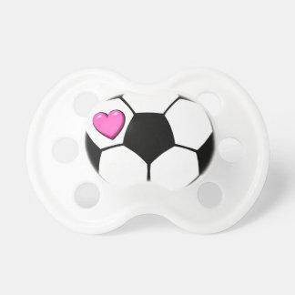Balón de fútbol chupete de bebe