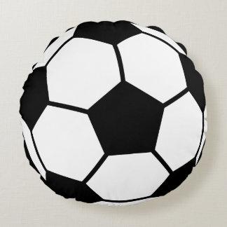 Balón de fútbol cojín redondo