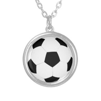 Balón de fútbol collar