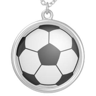 Balón de fútbol collares