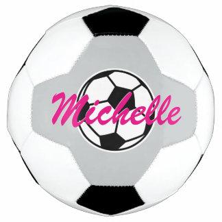 Balón de fútbol conocido de encargo personalizado