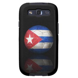 Balón de fútbol cubano gastado de fútbol de bander samsung galaxy s3 cárcasa