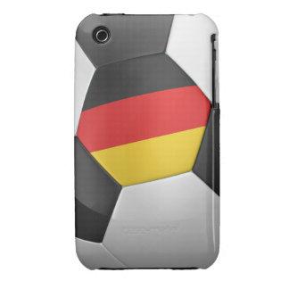 Balón de fútbol de Alemania Case-Mate iPhone 3 Protectores