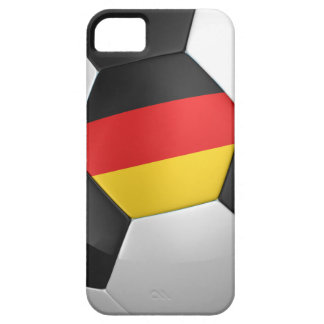 Balón de fútbol de Alemania Funda Para iPhone 5 Barely There