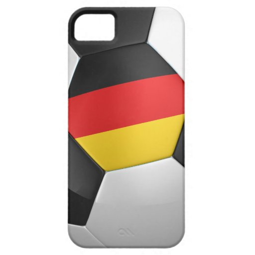 Balón de fútbol de Alemania iPhone 5 Carcasa