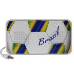 Balón de Fútbol de Brasil 2014 Copa del Mundo Laptop Altavoz
