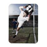Balón de fútbol de cogida del portero del fútbol imán flexible