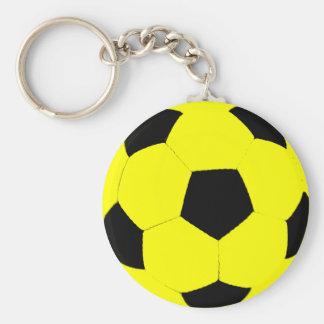 Balón de fútbol de encargo del color llavero