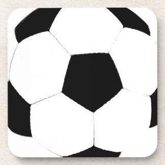 Balón de fútbol de encargo del color posavasos de bebidas
