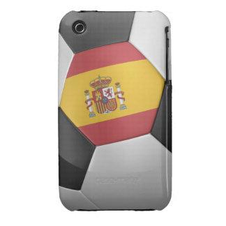 Balón de fútbol de España Case-Mate iPhone 3 Fundas