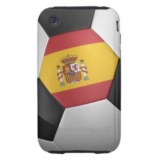 Balón de fútbol de España Tough iPhone 3 Coberturas