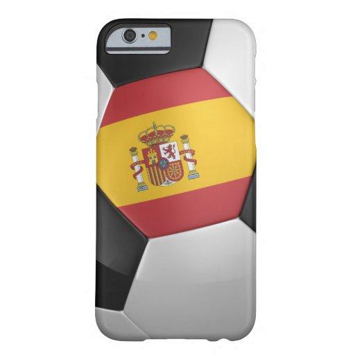 Balón de fútbol de España Funda Barely There iPhone 6