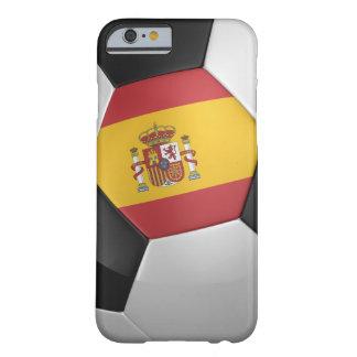 Balón de fútbol de España Funda Para iPhone 6 Barely There