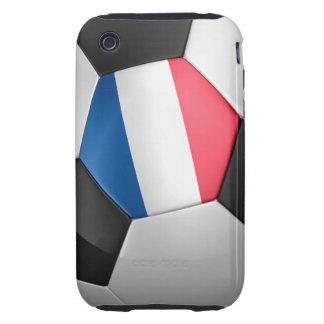 Balón de fútbol de Francia Tough iPhone 3 Cobertura