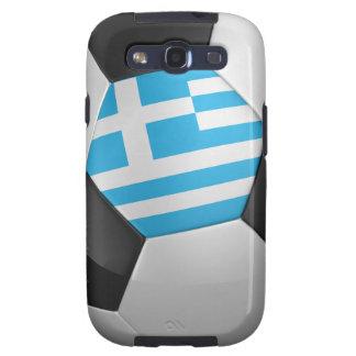 Balón de fútbol de Grecia Galaxy S3 Fundas