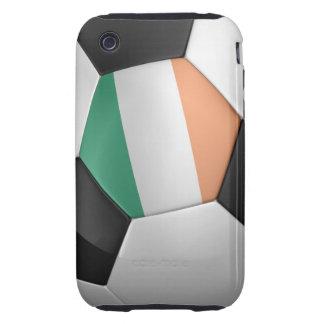 Balón de fútbol de Irlanda Tough iPhone 3 Funda