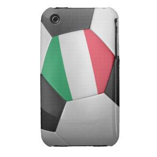 Balón de fútbol de Italia Case-Mate iPhone 3 Fundas