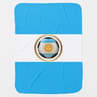 Balón de fútbol de la Argentina Mantitas Para Bebé