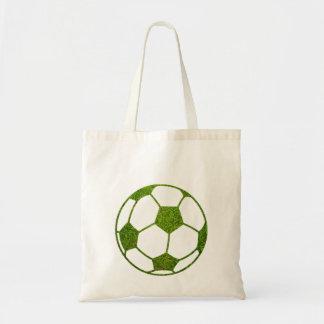 Balón de fútbol de la hierba bolsa