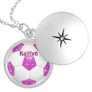 Balón de fútbol de las piedras preciosas del diama collar redondo