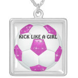 Balón de fútbol de las rosas fuertes de las piedra joyeria